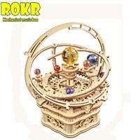 Rokr Starry Night Mechanical Wooden Trick 3D Puzzle Model DIY Christmas Gift