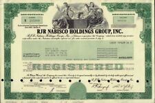 RJR NABISCO HOLDINGS GROUP INC  1991 old stock certificate