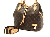 Authentic LOUIS VUITTON Neo 2way Hand Bag Shoulder Bag Monogram M40372 B-4748
