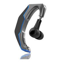 Bluetooth Headset Earhook Wireless Earphone Handsfree Phone Headphone Universal