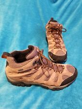 """MENS BROWN MOAB MERRELL """"EARTH"""" WATERPROOF HIKING BOOTS #J88623 SIZE 13"""