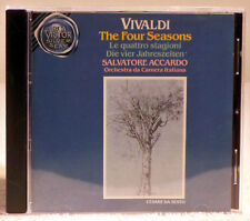 Vivaldi - The Four Seasons - Accardo (CD, 1991 RCA Victor Silver Seal) VD60542