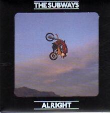 (CB622) The Subways, Alright - 2008 DJ CD