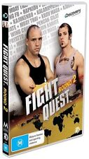 Fight Quest - Round 2 (DVD, 2009, 2-Disc Set) Brand New Sealed