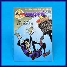 Mosaico Abrafaxe 261 settembre 9/1997 DDR COMIC rivista digedags-successore