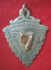 Irish Silver & Gold Harp Medal or Fob  - Dublin 1964 not engraved