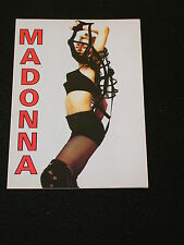 Vintage MADONNA Postcard IN HER PRIME TIME Ready to Rock