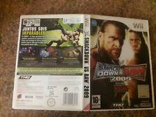 WWE SMACKDOWN VS. RAW 2009 Wii (PAL ESPAÑA)