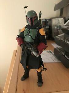 Star Wars Black Series Figuarts, Custom Mandalorian Boba Fett, repainted armor