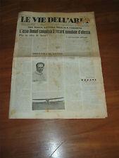 LE VIE DELL'ARIA,1934,DONATI CONQUISTA RECORD ALTEZZA,AVIAZIONE,L'ALA FASCISTA