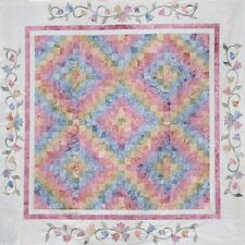 Starr Designs Quilt Kit Garden Trails Queen Size Hand Dyed Cotton Fabrics