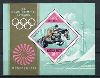 32503) Hungary 1972 MNH Olympic G.Munich S/S