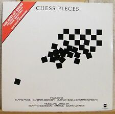 ♪♪  33 T  VINYL- BENNY ANDERSSON - TIM RICE - BJÖRN ULVAEUS - CHESS PIECES  ♪♪
