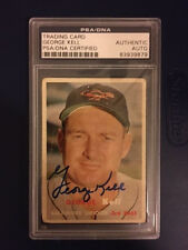 George Kell Autograph 1957 Topps #230 Signed Orioles PSA/DNA Certified Authentic