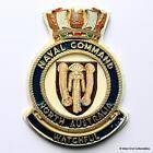 Naval Command North Australia - Australian Navy Military ANZAC Badge Plaque
