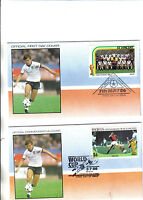 2 england 1986 world cup first day covers