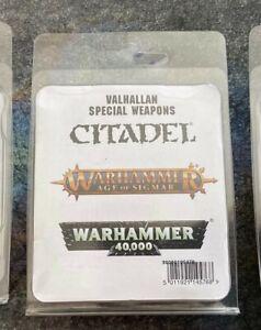 Warhammer 40k Valhallan Special Weapons Team metal OOP