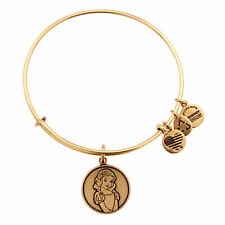 Disney Parks Snow White Bangle by Alex and Ani Charm Gold finish New RETIRED