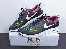 Nike Air Max Thea Print Black Multicolored 599408-065 Women's Size 11