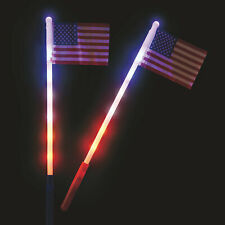 Usa Light-Up Flags - Toys - 12 Pieces