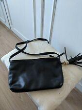 George Women/'s Sophia Bling Crossbody Handbag Purse Blue Denim NEW