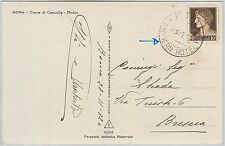 53302 - REGNO Storia Postale: CARTOLINA con annullo: MODERN  HOTEL  Roma 1932