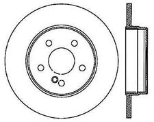 Disc Brake Rotor-Wagon Rear Right Stoptech 126.35044SR fits 1998 Mercedes E320