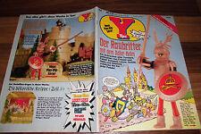 YPS BD # 211 avec: Lucky Luke + Capitaine York + bastelbogen/1979