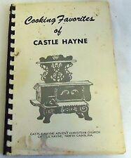 Castle Hayne, NC Advent Christian Church COOKING FAVORITES cookbook