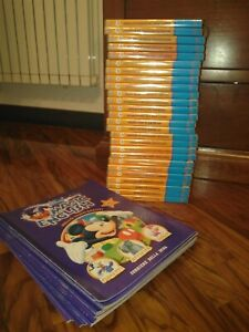 Disney Magic English collezione 26 volumi DVD e fascicoli