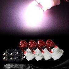4X Replacement Bulbs For 120 / 160 Watt Hide A Way Strobe Light B- RED