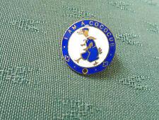 VINTAGE I AM A COCOCUB - CADBURYS CHILDRENS CLUB - ENAMEL PIN BADGE BRITISH MADE