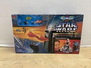 Star Wars Micro Machines Space - Boba Fett/Cloud City Playset Galoob 1996 NEW