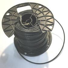 Black 12 AWG THHN Stranded Wire 6.8 LB Spool NOS