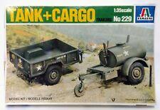 Italeri Tank Cargo Trailers No 229 Model Kit 1:35 Scale Vintage 1995 Sealed