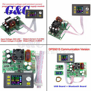 DPS3012/ DPS5015/ DPS5020 Adjustable Regulated LCD Digital Power Supply Module