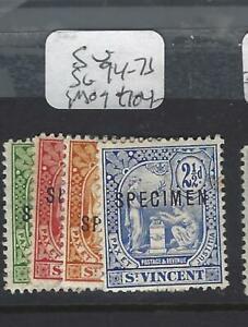 ST VINCENT   (P3103B)  SG 94-7   S  SPECIMEN  MOG