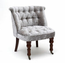 Velvet Solid Pattern Contemporary Armchairs