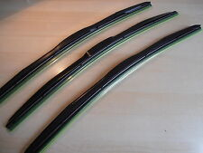 "HYMER Motorhome Latest Style Wiper Blades 20""x20""x20""""Retro fit Hook.(3 set)"