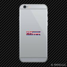 Hawaii Native Cell Phone Sticker Mobile HI pride