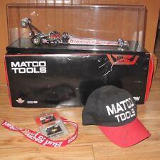 Gary Scelzi/Craig Treble Signed Hat Winston Matco Tools Autographed Dragster