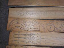 Vintage Balsa Wood Airplane Model, Cleveland Howard Racer, Mr Mulligan w/o box