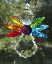 t RAINBOW ANGEL ORNAMENT Crystal expressions Ganz suncatcher baby gay pride