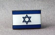 Metallo Smalto Spilla Badge Bandiera Israele Israeliano Nazionale