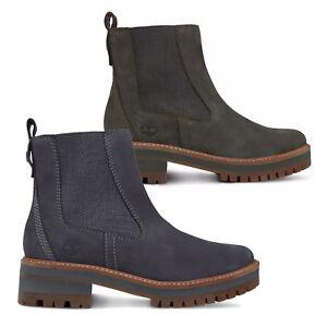 Timberland Courmayeur Valley Chelsea Damen Stiefel Boots Herbst Winter