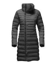 The North Parka para Mujer FAR del norte Face Cálida Chaqueta de Plumón Gris Oscuro Heather XS