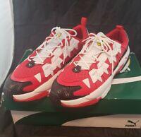 PUMA Scuderia Ferrari LQDCELL Omega Men's Sport Shoes Sneakers Red NEW 11.5
