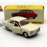 Atlas Dinky Toys 1428 PEUGEOT 304 white 1/43 Diecast Models Limited Edition