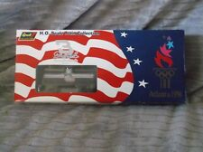 1996 Olympics Revell Dale Earnhardt H.O. Scale train 4 piece Collection New in