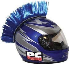 NEW PC Racing Helmet Mohawk Street Bike Dirt Bike BLUE FREE SHIP